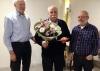 Jubilaris Jan Nieuwburg 50 jaar lid